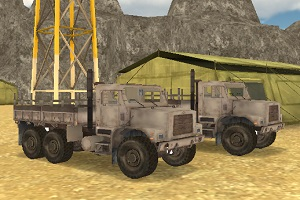 Army Cargo Driver Thumbnail 2